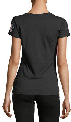 Romeo & Juliet Couture Patchwork Embellished Tee