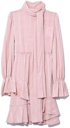 See by Chloe Ascot Tie Dress in Smoky Pink