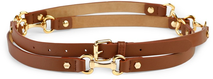 C. Wonder Equestrian Double Wrap Belt