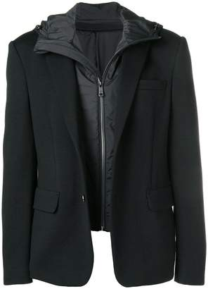 Prada hooded blazer jacket