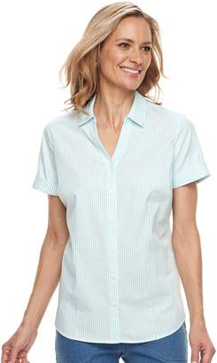 Croft & Barrow Women's Wrinkle-Resistant Shirt