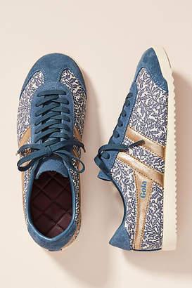 Gola Leaf-Printed Sneakers