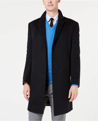Kenneth Cole New York Men Slim-Fit Raburn Cashmere Overcoat