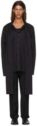 Ann Demeulemeester Black Vented Shirt