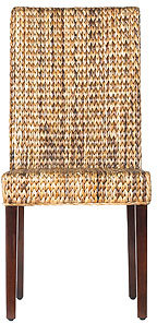 Elana Banana Leaf Dining Chair, Set of 2