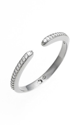 Women's Nadri Kate Pave Open Ring $45 thestylecure.com