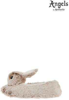 Angels By Accessorize Girls Angels by Accessorize Mink Billi Bunny Slippers - Green