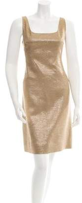 Michael Kors Woven Metallic Dress