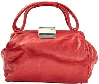 Sportmax Red Leather Handbag