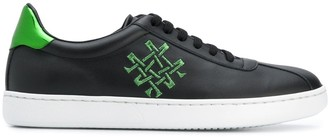 Mr & Mrs Italy logo low-top sneakers