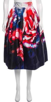 Nicholas Silk Midi Skirt