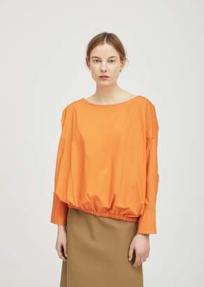 Ter Et Bantine Cotton Boatneck Blouse Orange
