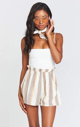 Show Me Your Mumu Larkin Shorts ~ Frontier Stripe Yarn Dye