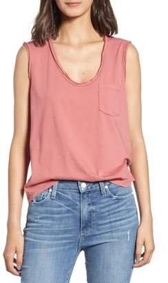 James Perse Pocket Tank