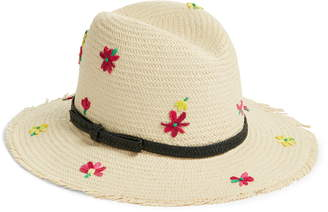 Kate Spade Embroidered Floral Trilby Hat