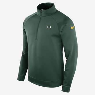 Nike Dri-FIT Therma (NFL Packers) Men's Half-Zip Long Sleeve Top