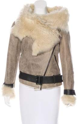 Karl Donoghue Shearling Leather Jacket
