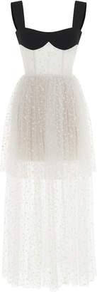 Rasario Bustier Top Maxi Dress
