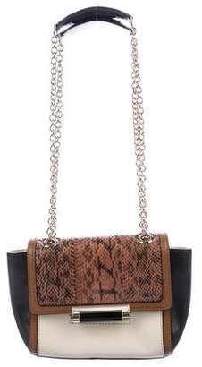 Diane von Furstenberg Mini Snakeskin & Leather Crossbody Bag