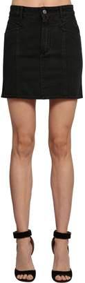 Givenchy Stretch Cotton Denim Mini Skirt