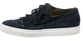 Sartore Suede Slip-On Sneakers