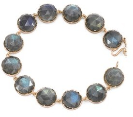 Irene Neuwirth Rose Cut Labradorite Bracelet - Rose Gold