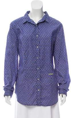 0039 Italy Allegra Button-Up Top w/ Tags