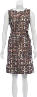Cinzia Rocca Matelassé Sleeveless Dress w/ Tags