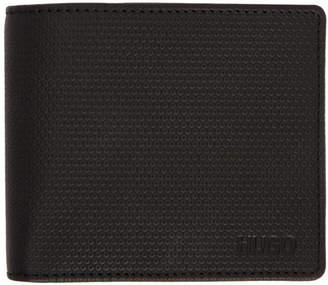 HUGO Black Bifold Wallet and Cardholder Set