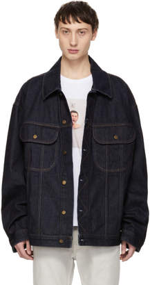 Acne Studios Indigo Bla Konst Denim Pepper Jacket