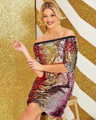 Bardot Sequin Swing Dress