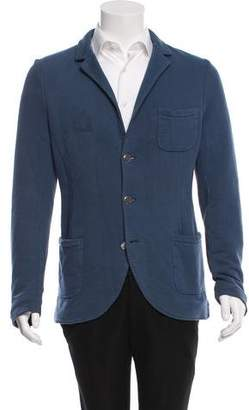 Michael Bastian Notch-Lapel Knit Blazer