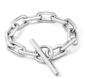 Walters Faith Saxon Sterling Silver Jumbo Chain Link Toggle Bracelet