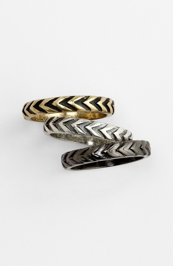 Carole Stackable Rings (Set of 3)