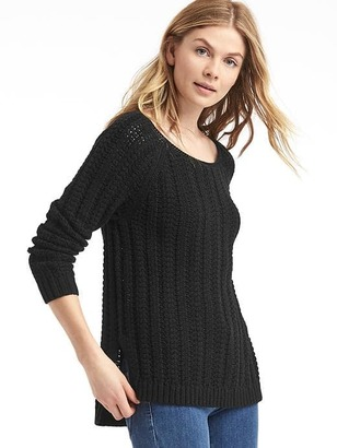 Chunky open-neck sweater $59.95 thestylecure.com