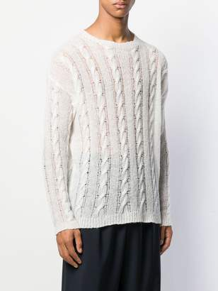Our Legacy cable knit sweater