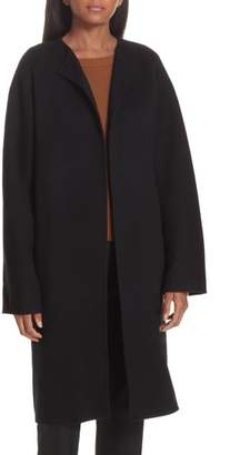 Theory Rounded Double Face Wool & Cashmere Coat