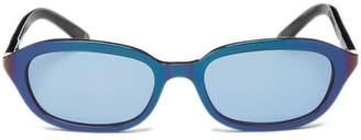 Chanel Iridescent Acetate Rectangle Sunglasses