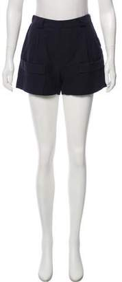 Band Of Outsiders Mid-Rise Mini Shorts