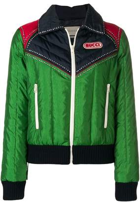 Gucci panelled jacket