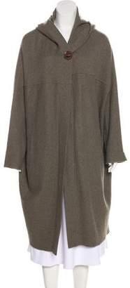 Magaschoni Hooded Long Coat