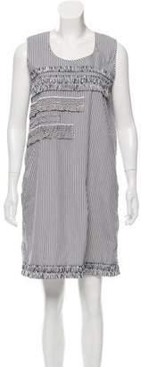 Victoria Beckham Victoria Striped Shift Dress