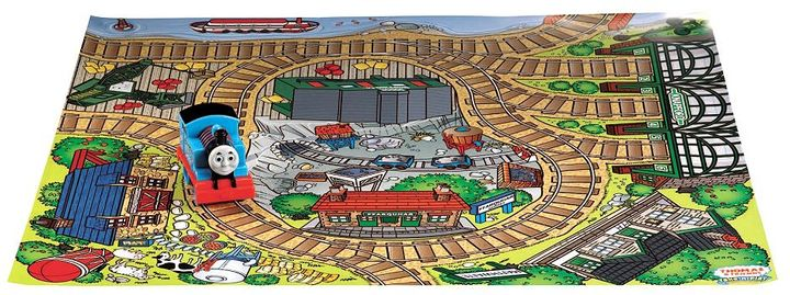 Thomas & Friends sites on sodor play mat by fisher-price