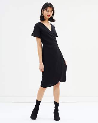 All About Eve Avery Wrap Dress