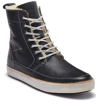 Blackstone AM 32 Genuine Shearling Lined High-Top Sneaker