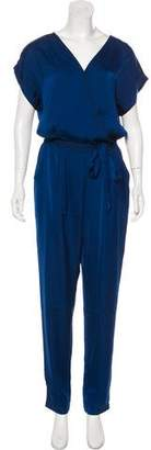Tart High-Rise Straight-Leg Jumpsuit