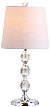 Hudson Jonathan Y Designs 20In Crystal Mini Table Lamp