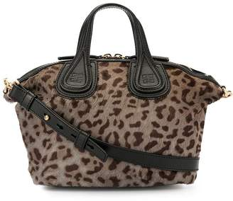 Givenchy Pre-Owned Nightingale leopard 2way bag