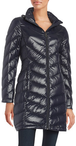 Calvin KleinCalvin Klein Packable Chevron Down Coat
