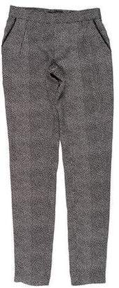 Kelly Wearstler Printed Silk Mid-Rise Pants w/ Tags